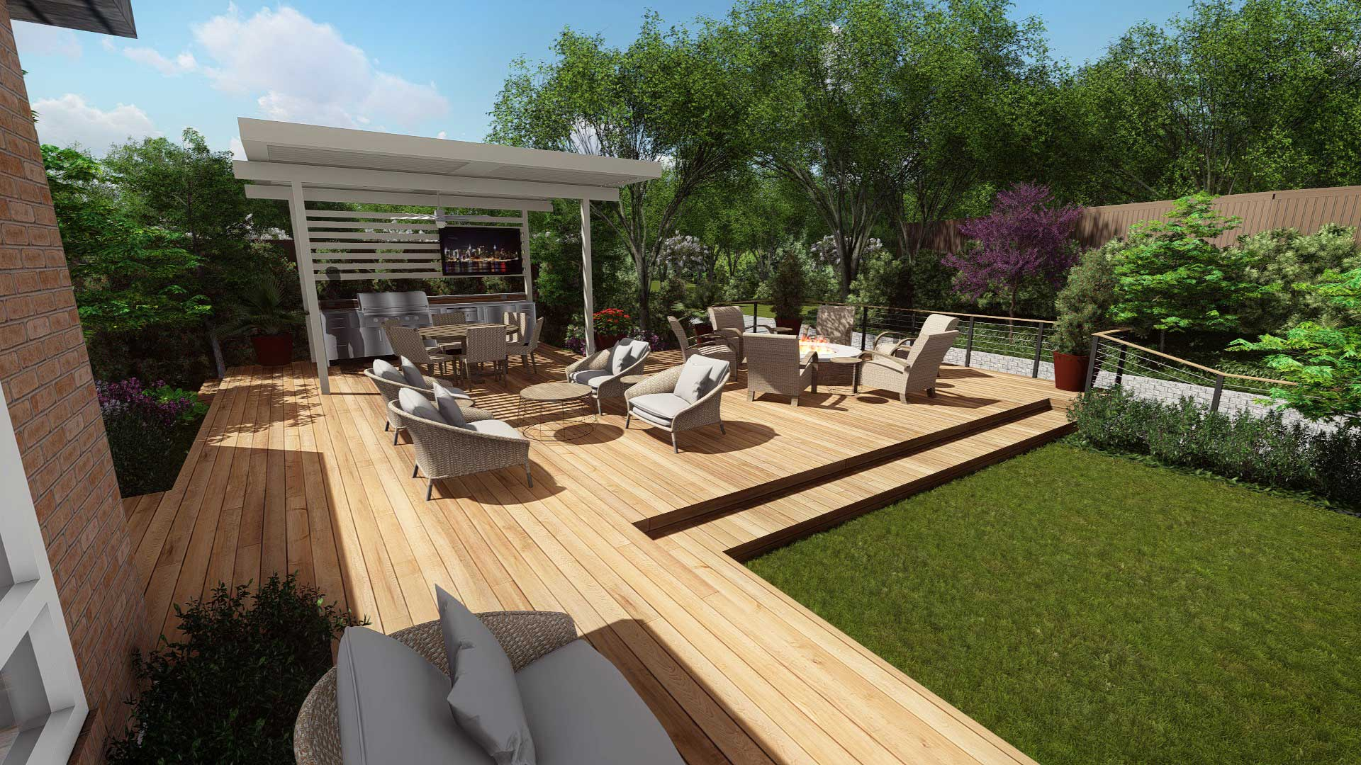 NEW DECK & OUTDOOR LIVING