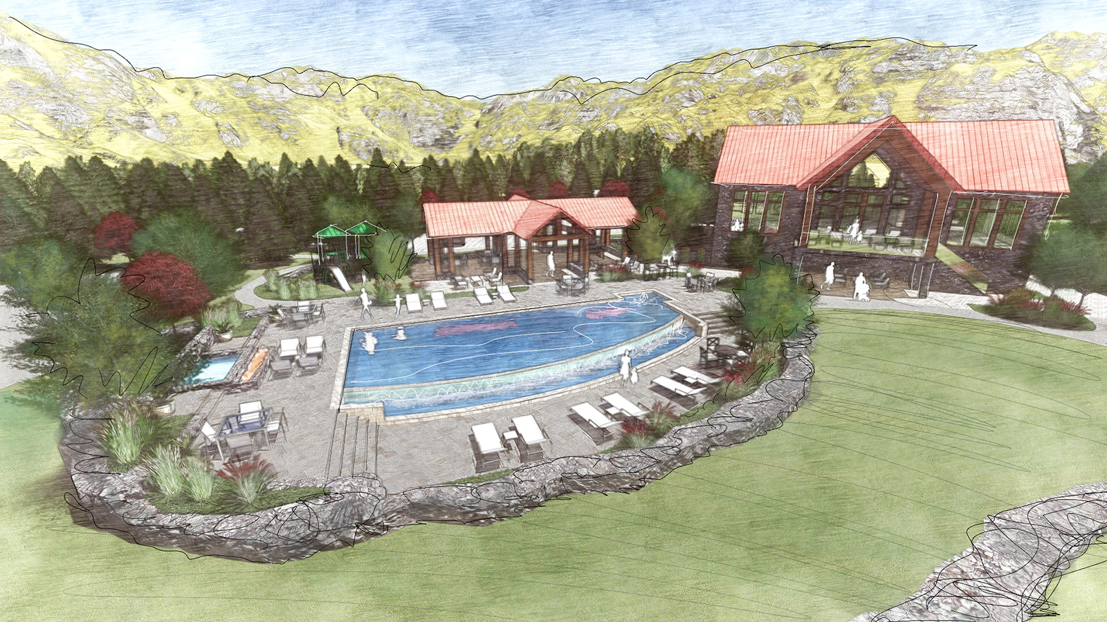 Copy of RESIDENT CLUBHOUSE & POOL AREA