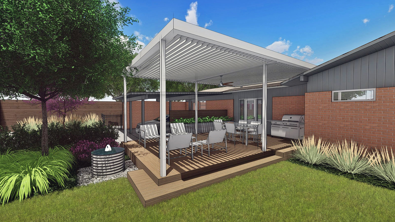 NEW OUTDOOR LIVING & SHADE STRUCTURE