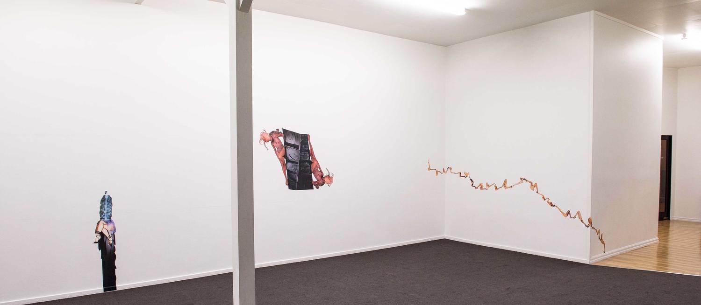 JK Russ's 'Snake Bite Kiss' installation at Paul Nache Gallery. Photo by Phil Scott