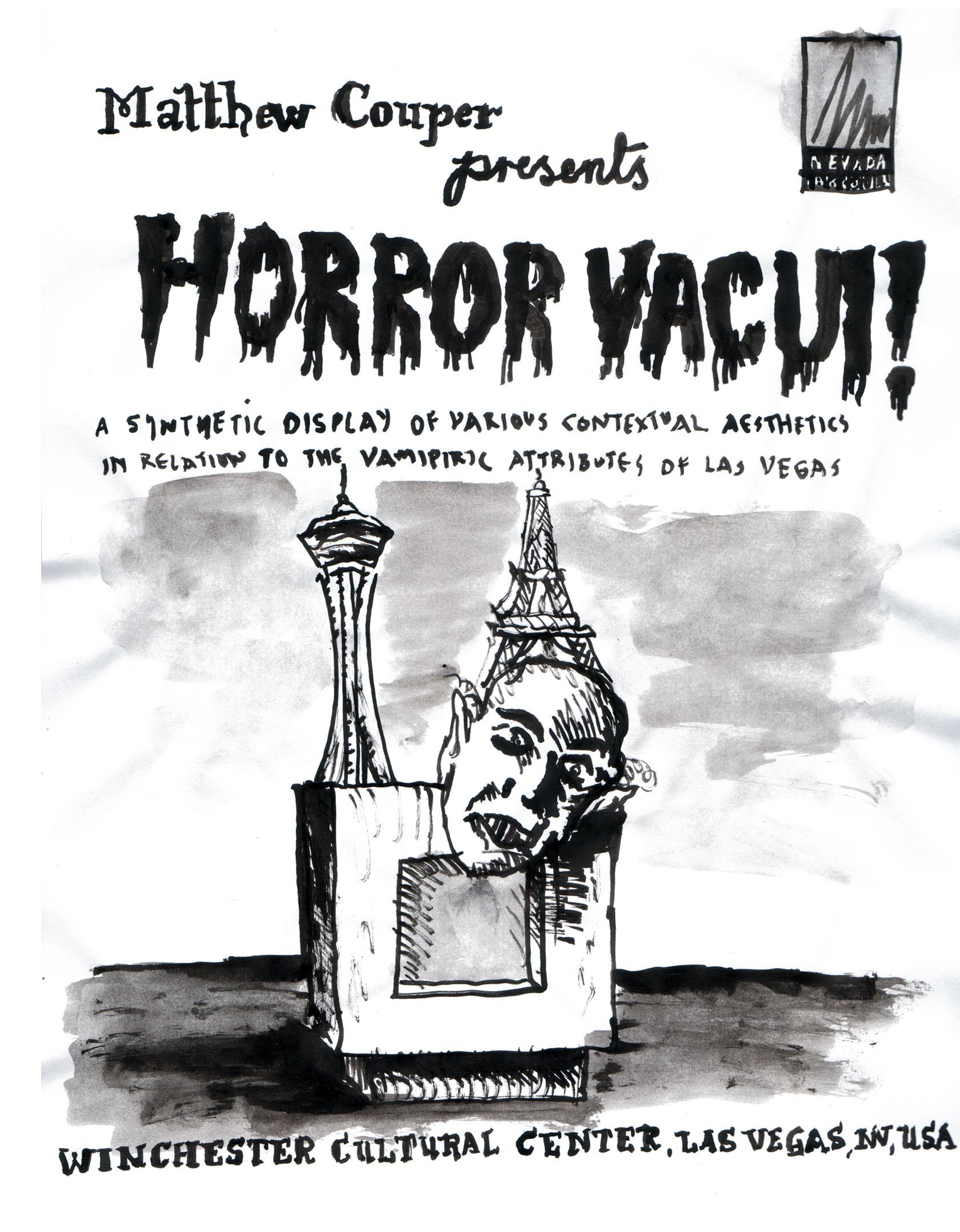 Matthew Couper, Horror Vacui!