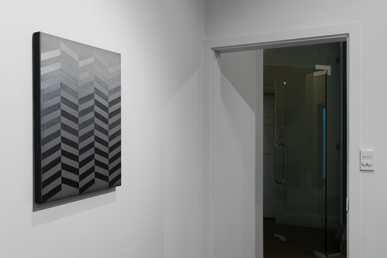 Study: Night  2015  Acrylic pigment and glaze on canvas  60.5 × 45.5cm