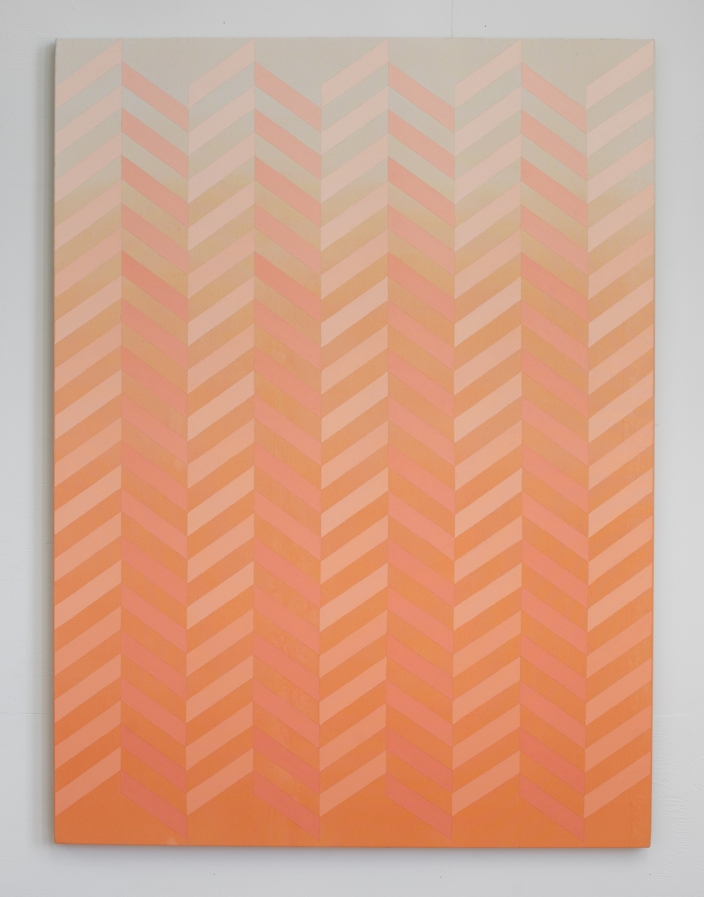 Pacific (Shimmer)  2015  Acrylic on canvas  137x 101.5cm