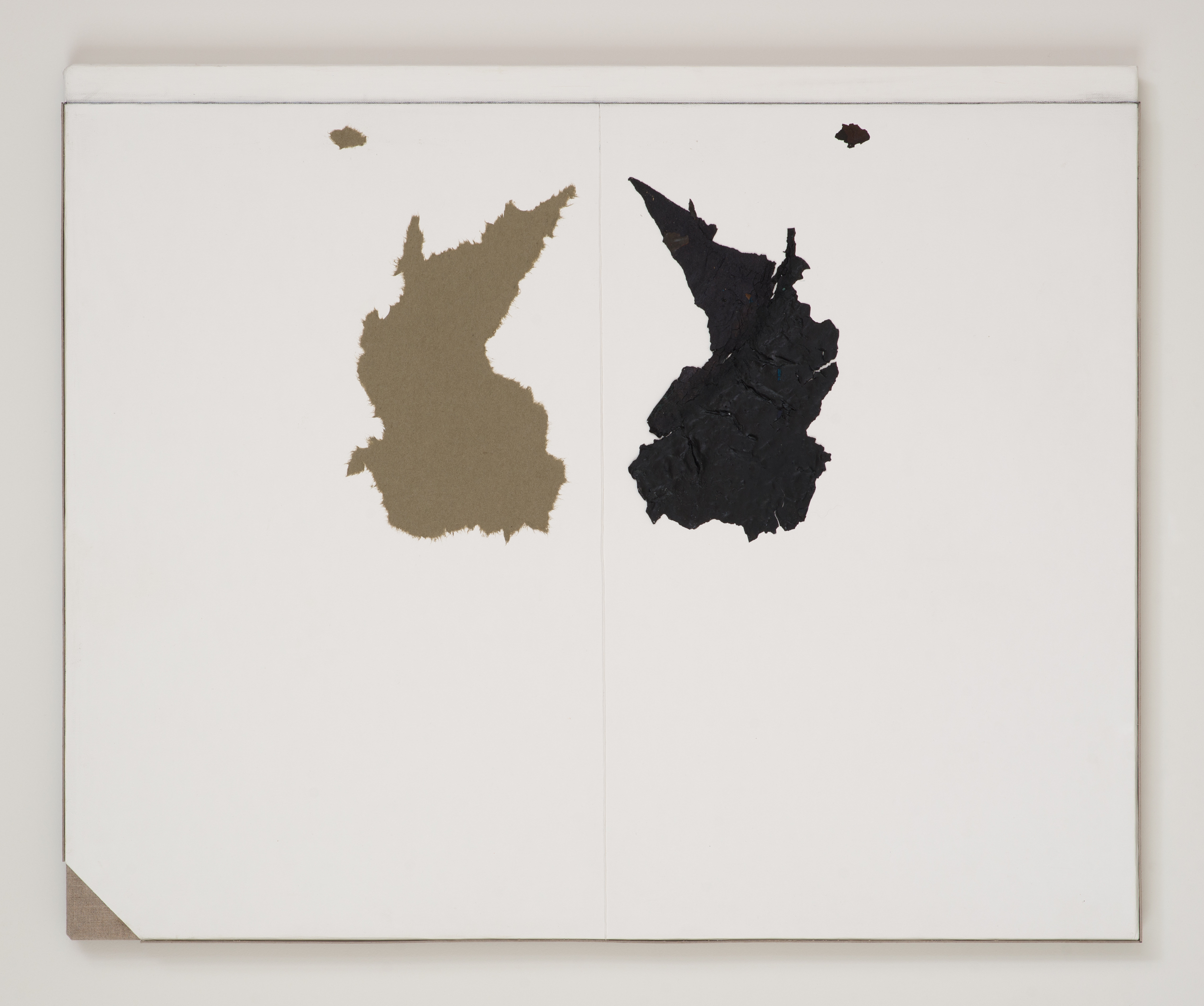 Peter Adsett, Painting number 7, Gesso, paper, paint, pasteboard and linen, 56.7 x 69.7 x 2.2cm.jpg