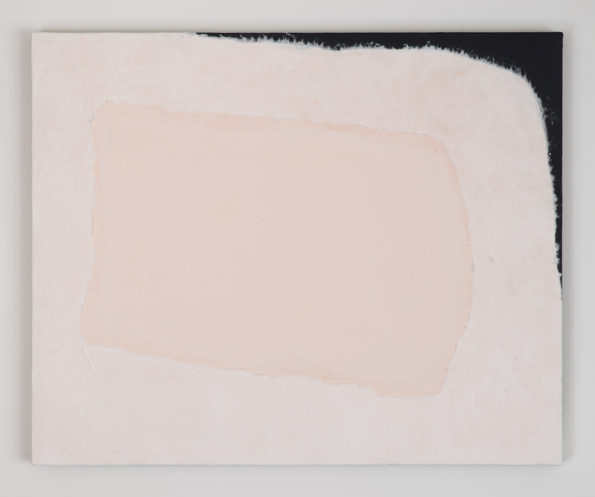 Peter Adsett, Painting number 8, Paint, paper, smooth coat and linen, 69.7 x 56.7 x 2.2cm.jpg