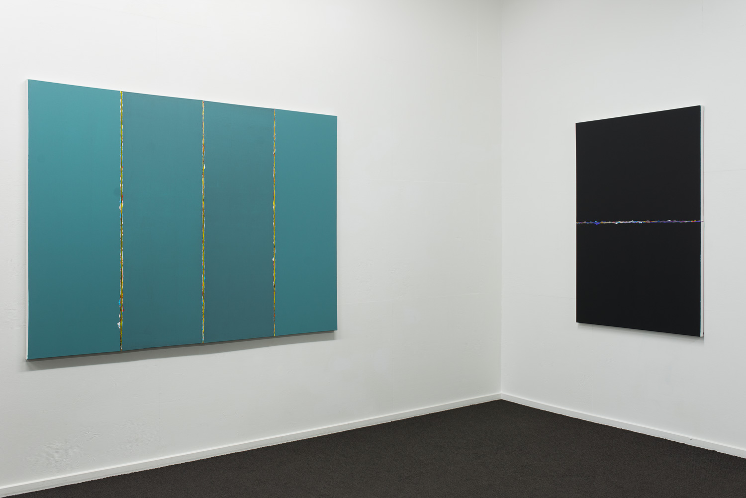Cross Current alongside Parallel Streams  2015  Installation view   Enquire