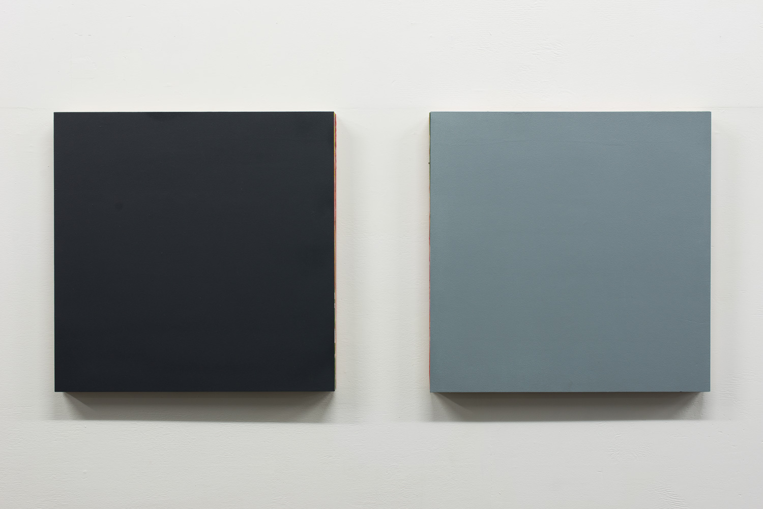 Structured Painting (Series)  2015  Oil and acrylic on timber panel  60 x 60 x 5cm   Enquire
