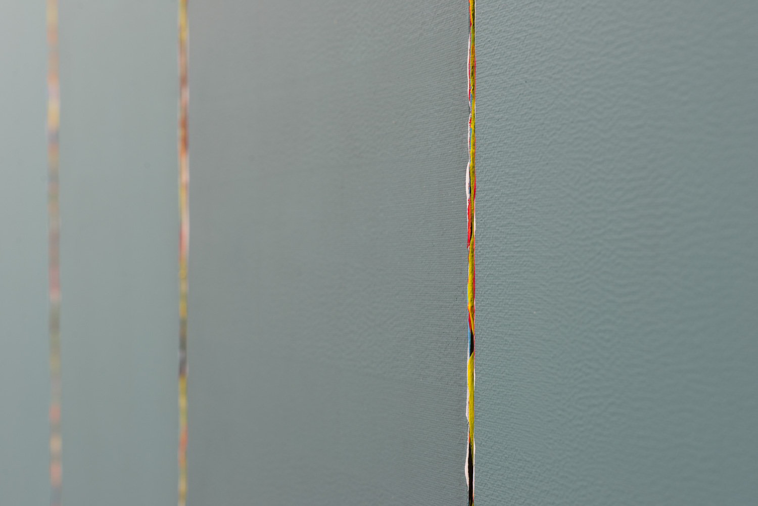 Cross Current (detail)  2015  Oil and acrylic on canvas  152.5 x 76 x 3.5cm   Enquire