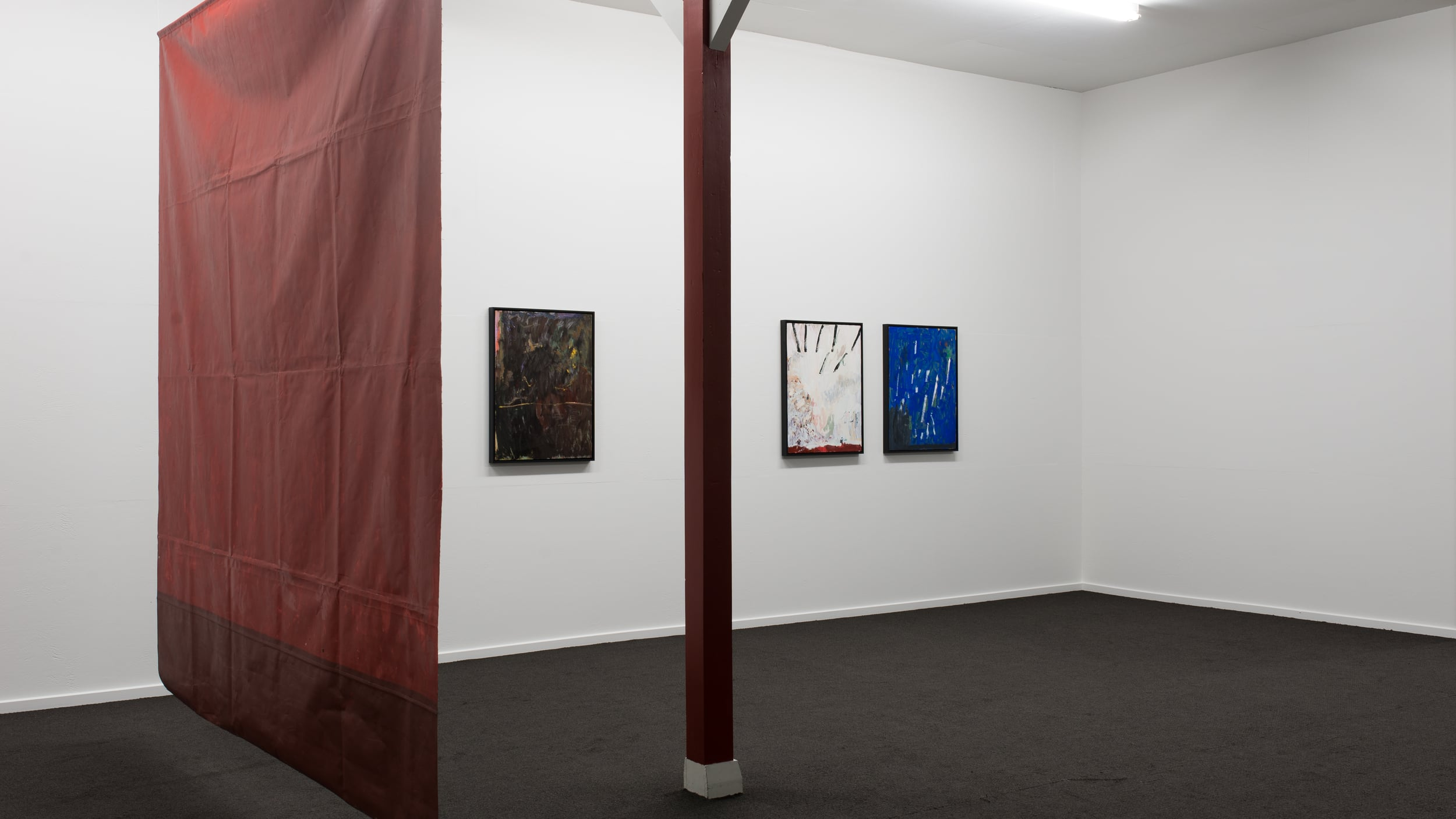Installation view  Photograph by Tom Teutenberg