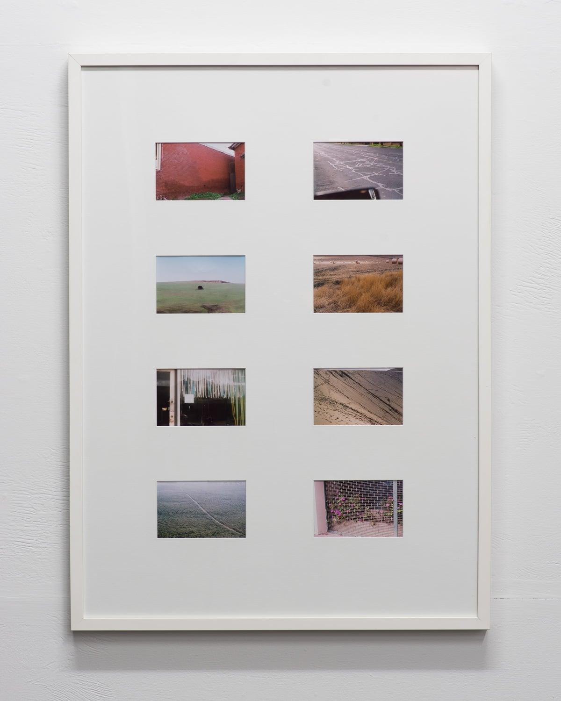 Keep An Eye  2015  8x 35mm photographs  94.5 x 69cm framed  NZD $2650   Enquire