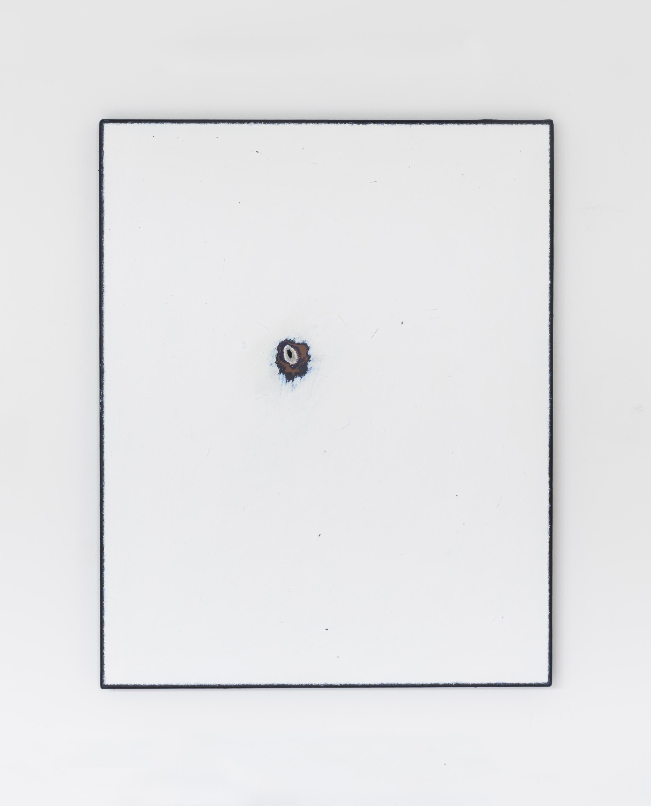 Painting No.10 2015 Paint, linen, stretcher frame 40 x 50 cm $5000 USD