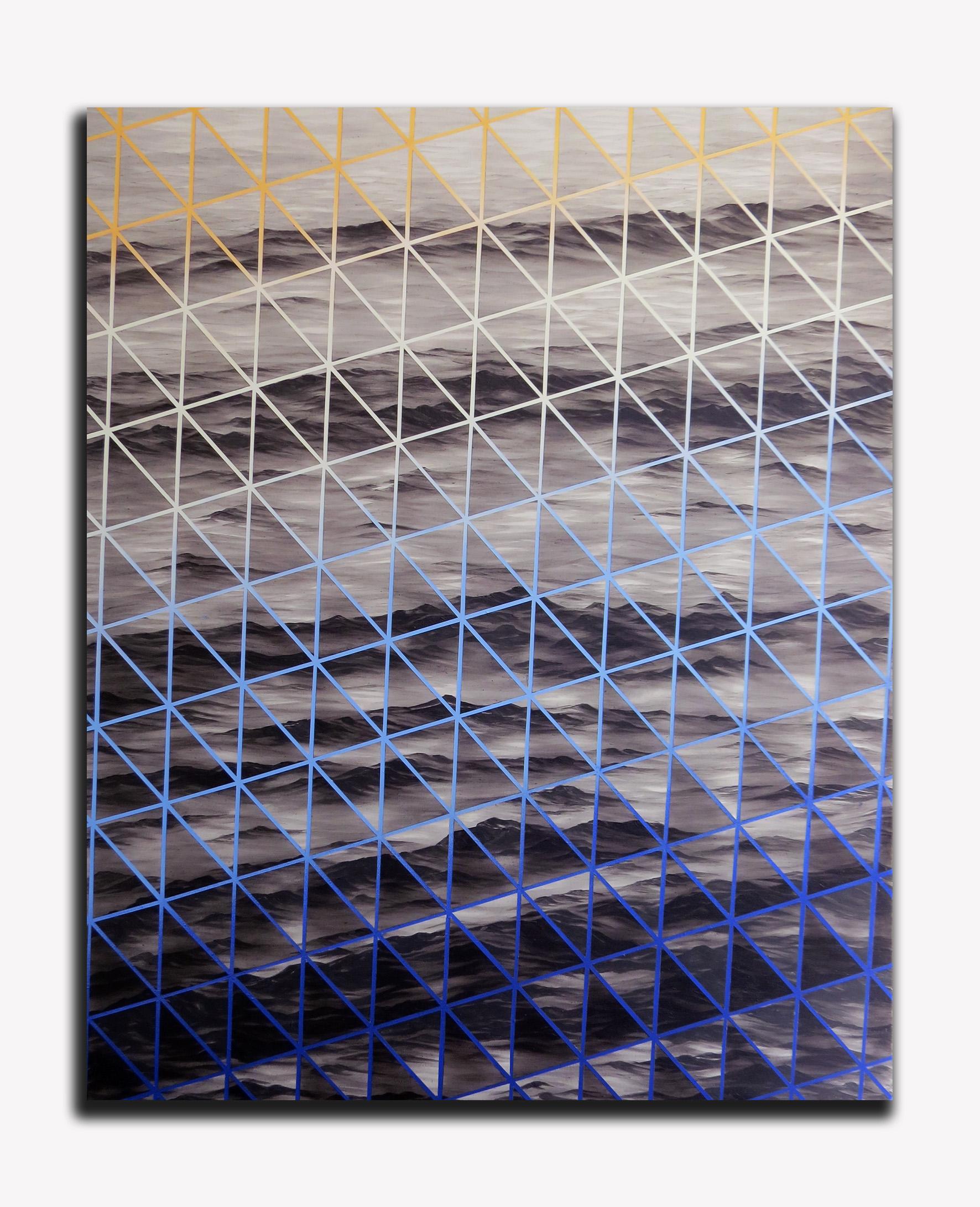 3. Fight the dying of the light #3, 137 x 167cm, Acrylic, Matt and Gloss on cnvas 2016.jpg