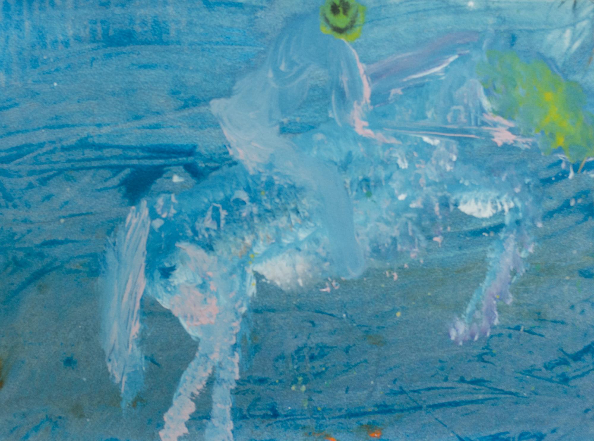 Rhys Lee, Riders, 2016, Acrylic on paper, 28 x 38cm, $700-6.jpg
