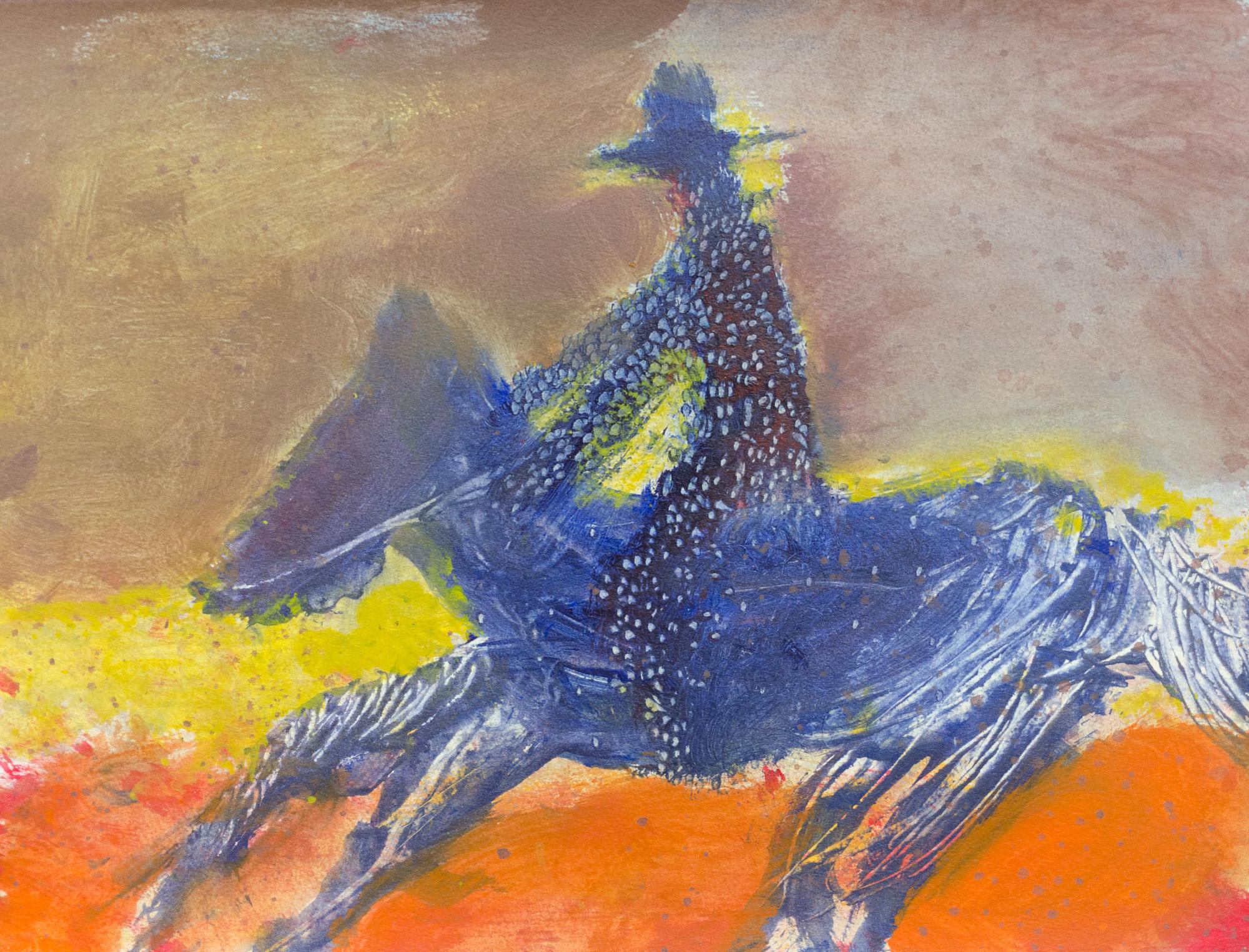 Rhys Lee, Riders, 2016, Acrylic on paper, 28 x 38cm, $700-8.jpg