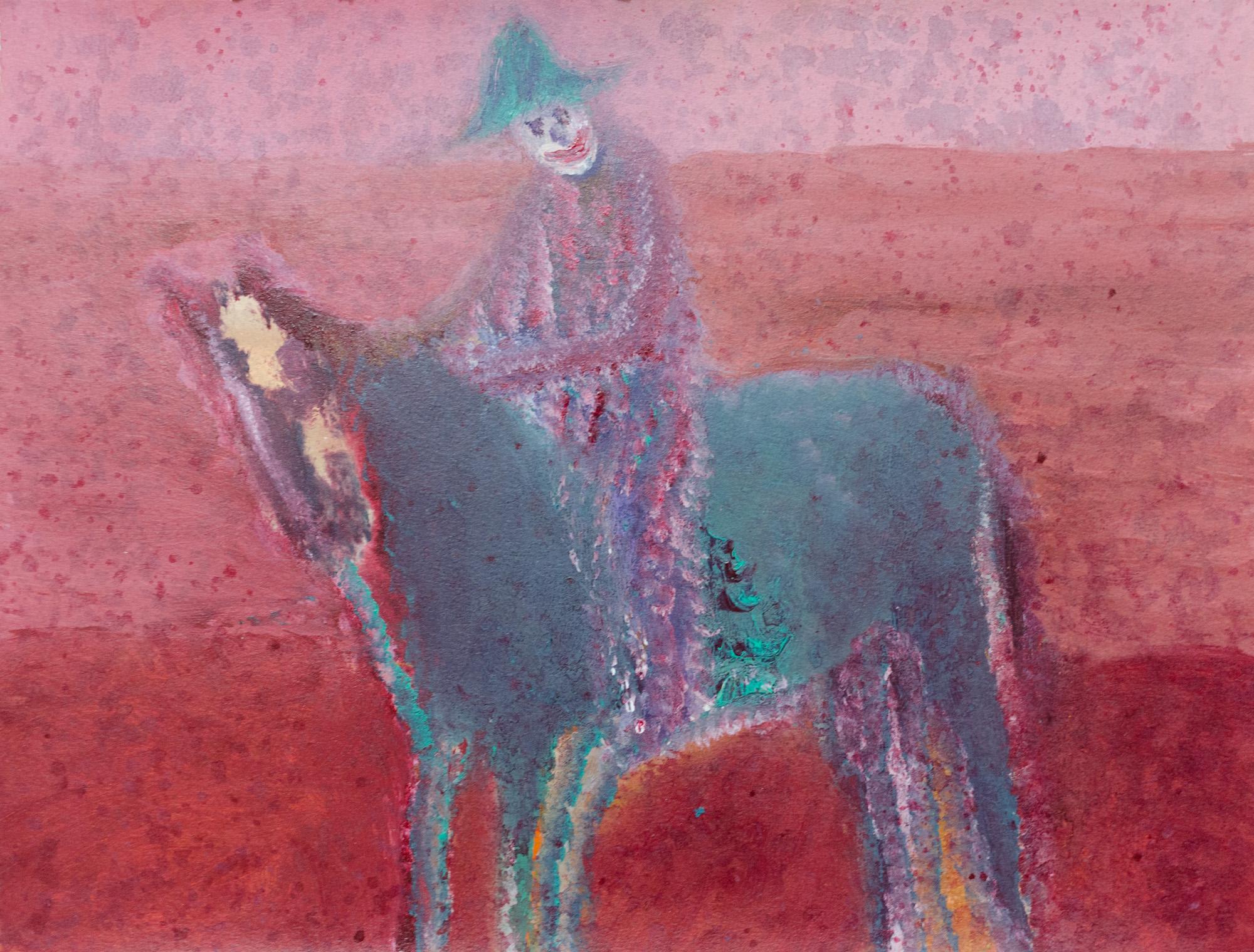 Rhys Lee, Riders, 2016, Acrylic on paper, 28 x 38cm, $700-13.jpg