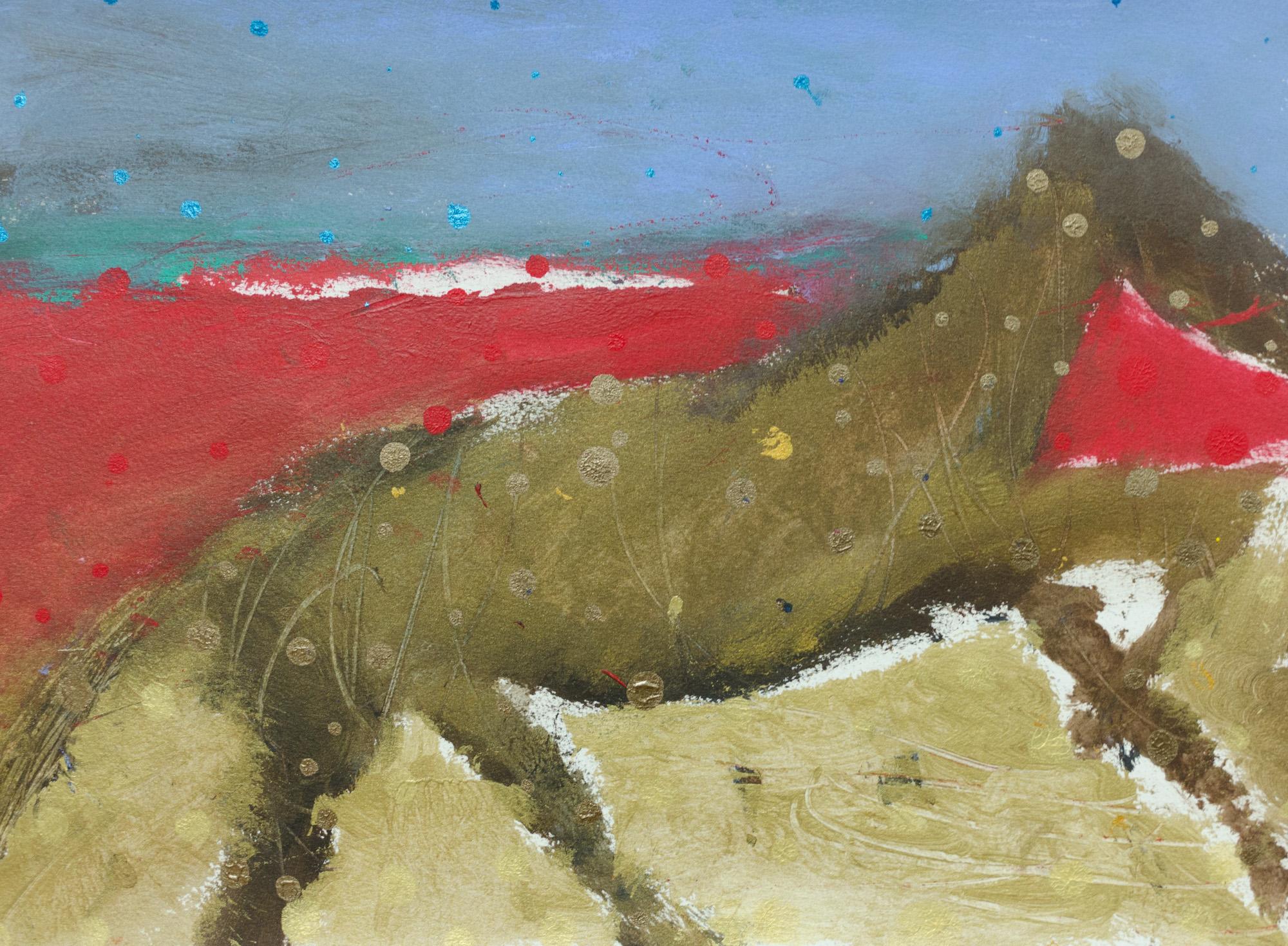 Rhys Lee, Riders, 2016, Acrylic on paper, 28 x 38cm, $700-14.jpg