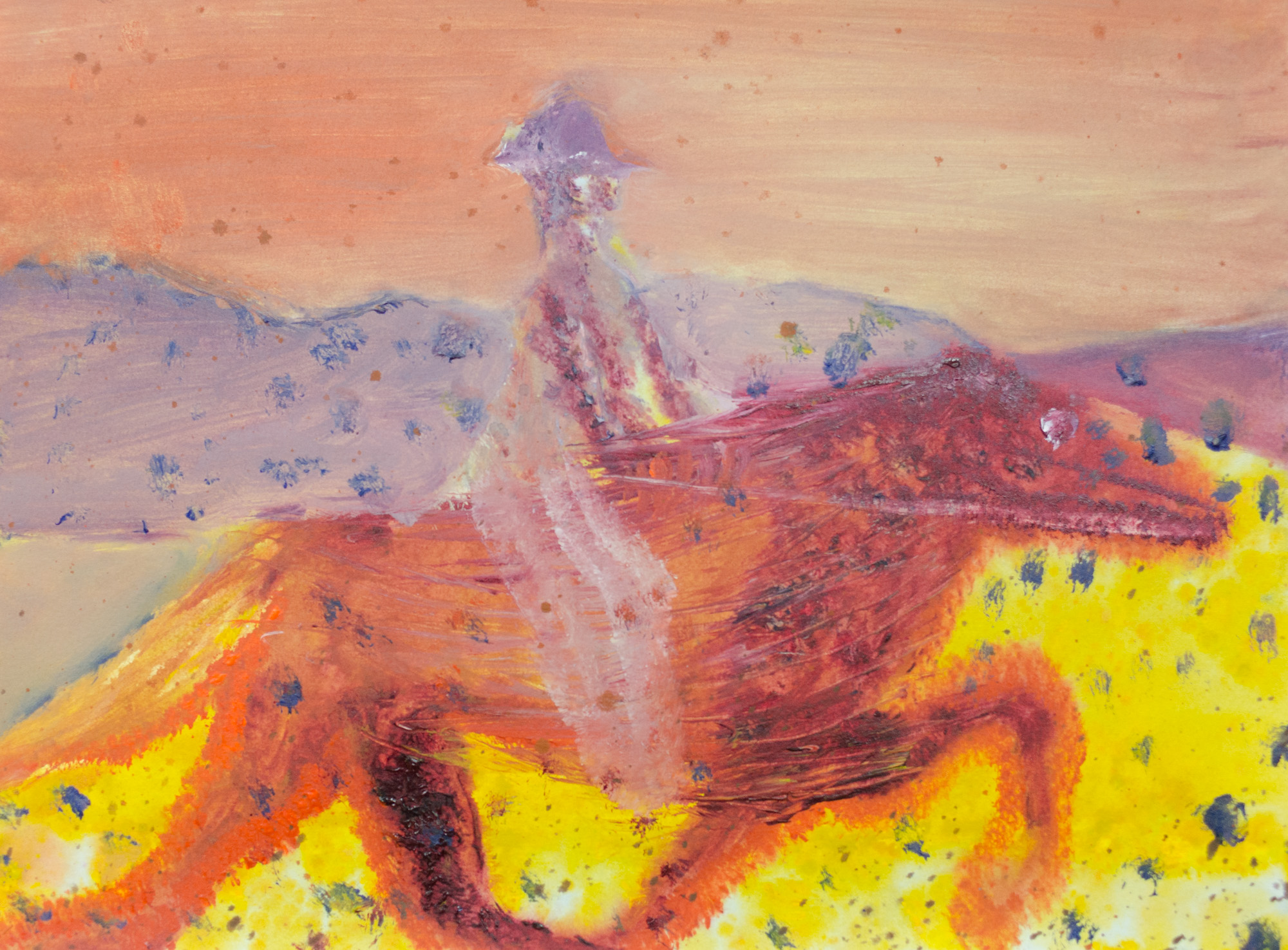 Rhys Lee, Riders, 2016, Acrylic on paper, 28 x 38cm, $700-18.jpg