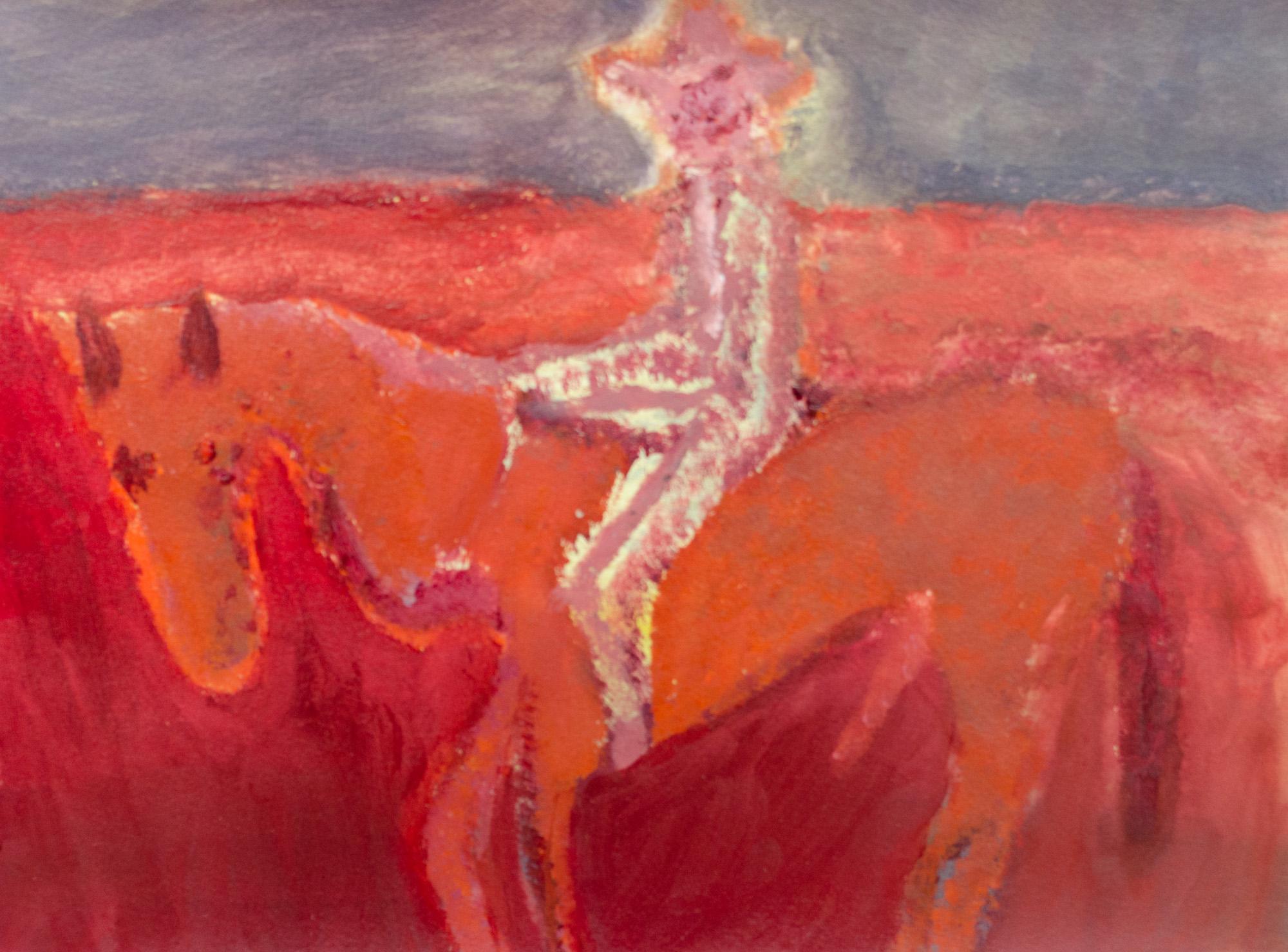 Rhys Lee, Riders, 2016, Acrylic on paper, 28 x 38cm, $700-27.jpg