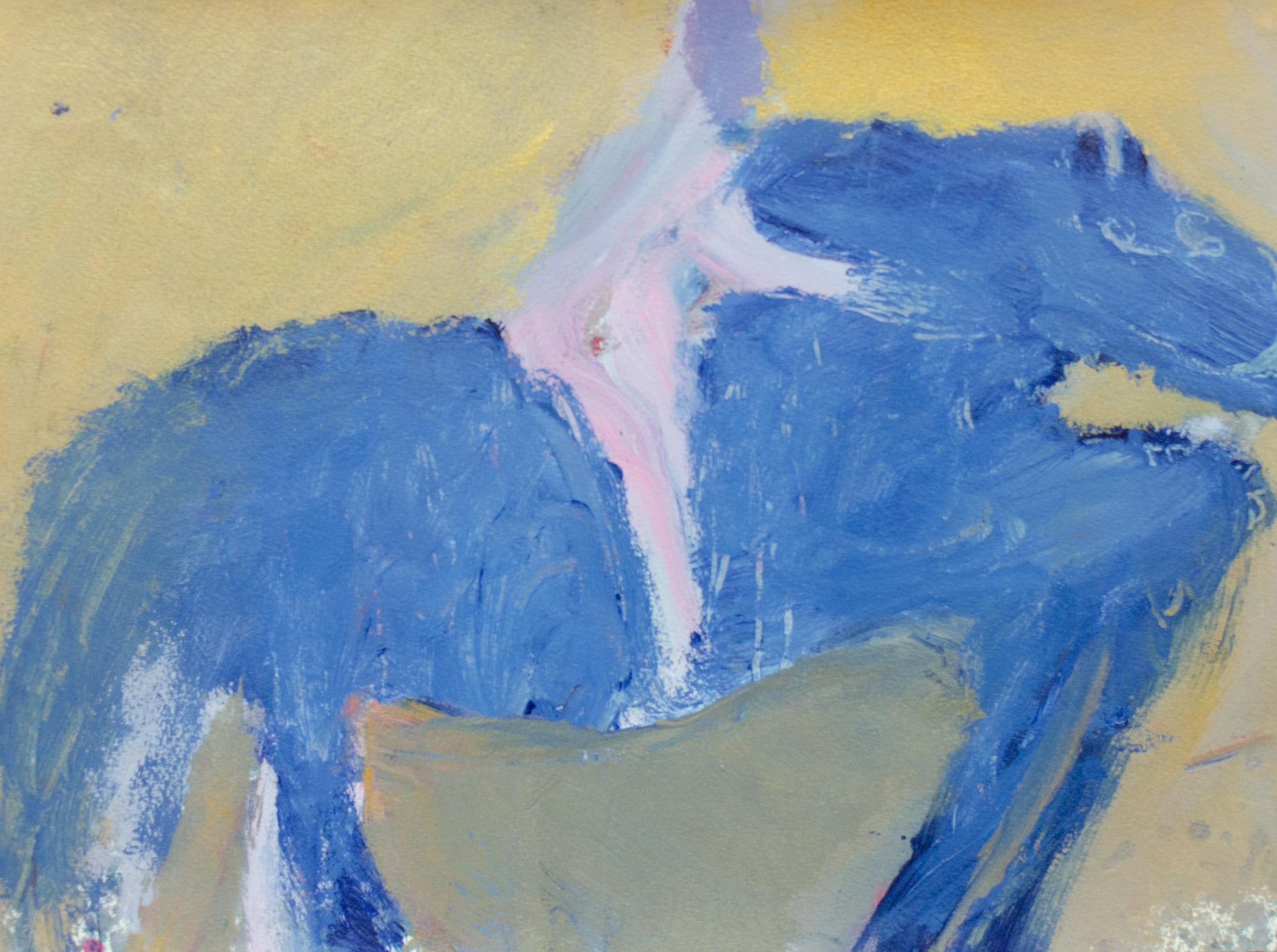 Rhys Lee, Riders, 2016, Acrylic on paper, 28 x 38cm, $700-31.jpg