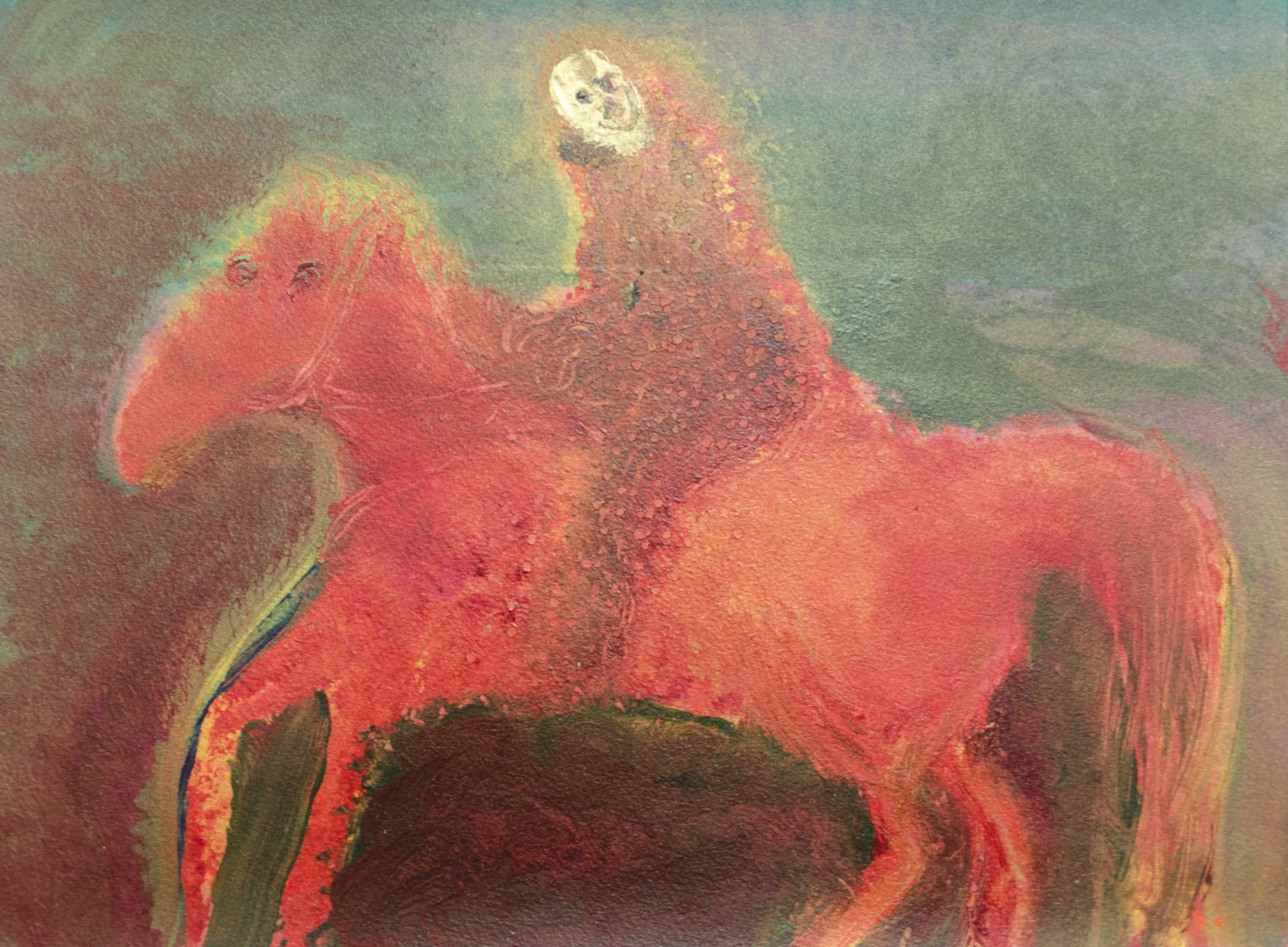 Rhys Lee, Riders, 2016, Acrylic on paper, 28 x 38cm, $700-34.jpg