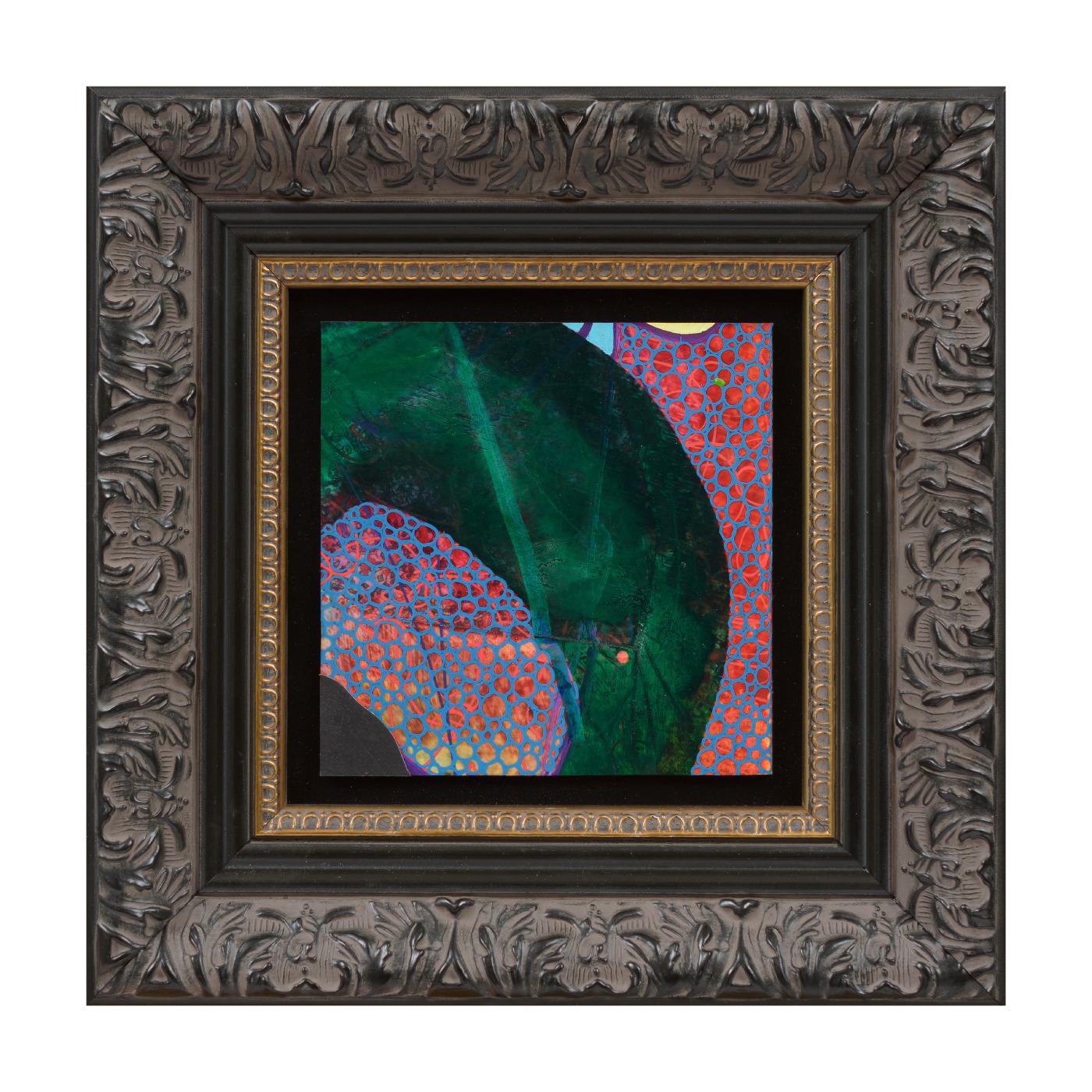 Evan Woodruffe, 28th August 2017 (B4), 12.5x12.5cm (unframed), acrylic and fabric on linen.JPG