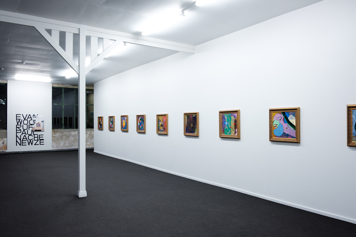 Installation photograph taken by Thomas Teutenberg, courtesy of the artist and PAULNACHE, Gisborne © 2018
