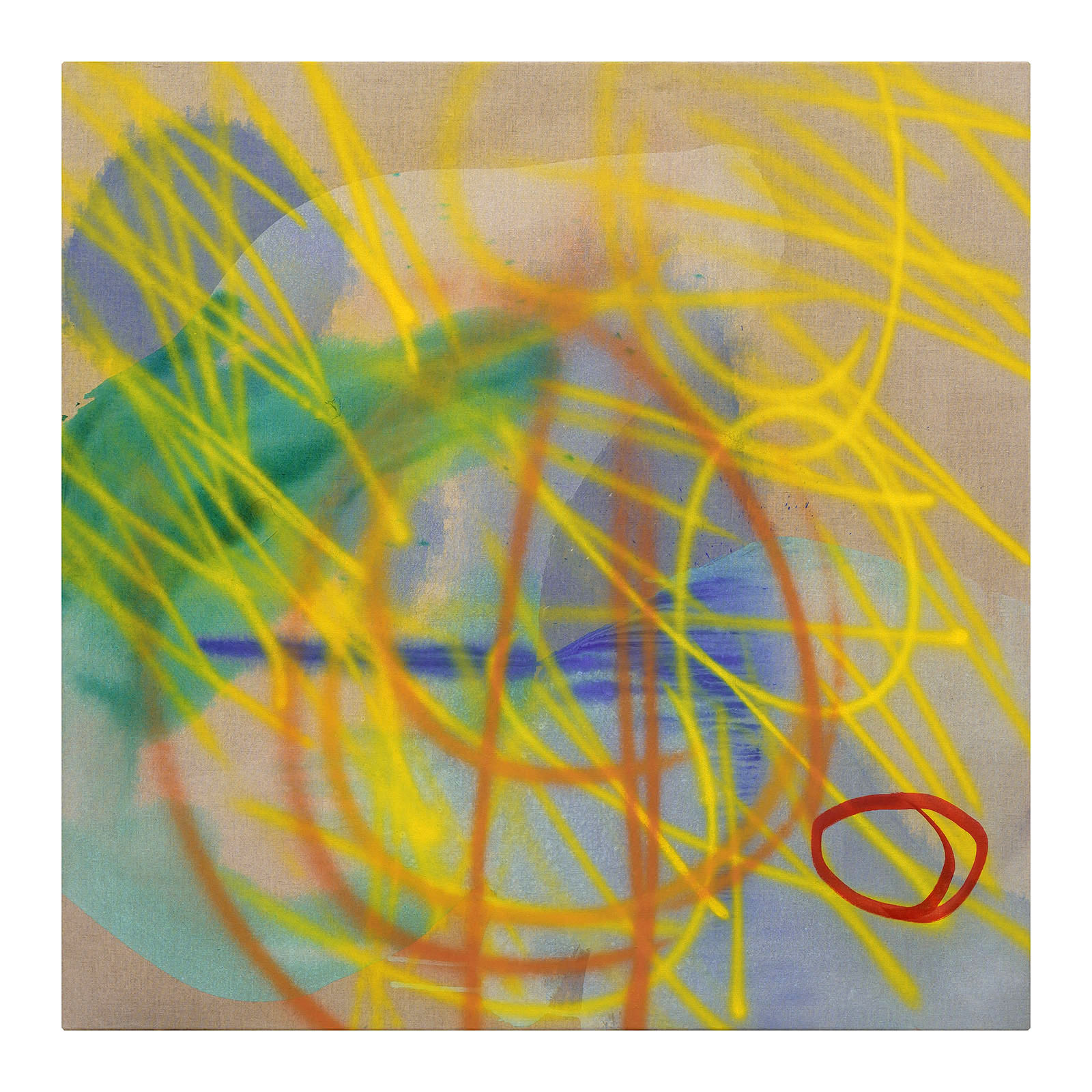 Evan Woodruffe, 28th March 2019, 100cm x 100cm, acrylic on linen.jpg