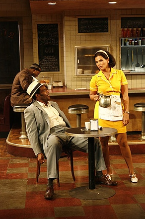 Two Trains Running , Signature Theatre (with Leon Addison Brown & Chad Coleman)