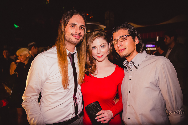 Alex, Lindsay, and the one and only Jeff Gorski of JAG Talent Management (Lindsay's manager).