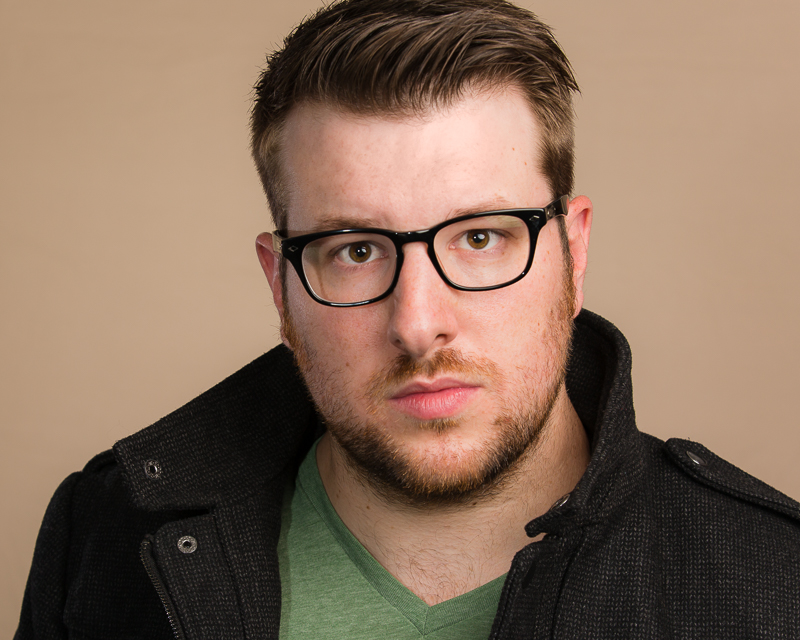 Matt Gilmore Theatrical Headshot