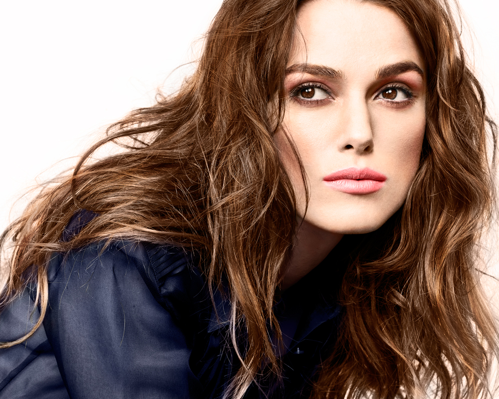 Kiera Knightley Colorized Image