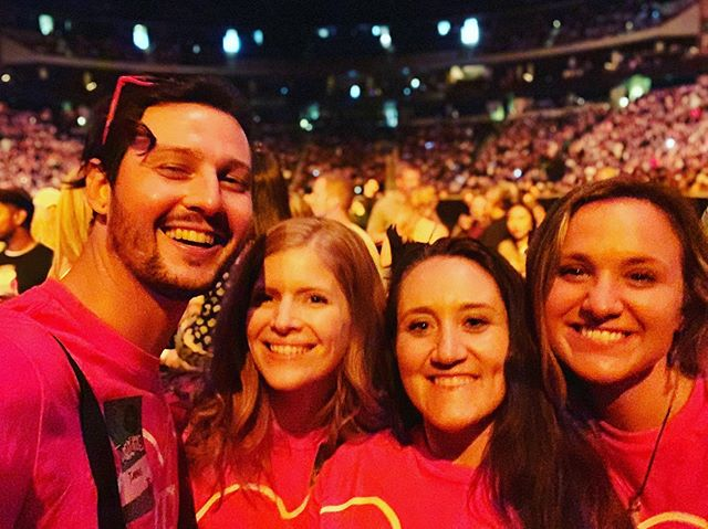 @arianagrande concert @xcelenergyctr getting our music on in St Paul.