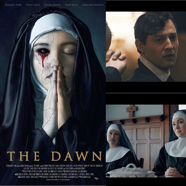 "Here is the sneak peak teaser trailer from ""The Dawn"" - a feature horror film I had the pleasure of working on last year. It's so sick!  Special thanks to Elliot Diviney (Diviney Pictures) for his brilliant mind and Brandon Van Vliet has (Restraining Hollywood) and the entire production team for having me on board!  https://www.ihorror.com/hold-on-tight-the-dawn-teaser-trailer-delivers-nightmarish-sequences/  The film was written by Elliot Diviney and Slagle and executive produced by J Spencer, James C. Ward, Chris Morganelli, Tiffany Hammer, Gigi, and Jeff Jankowski, Chris Charles and John W. Bosher. It is expected to premiere later this year.  With the recent releases of the Conjuring Universe's The Nun & Darren Lynn Bousman's St. Agatha, horror films involving Nuns have turned into quite the hot commodity and I am personally quite content with this. Nuns in horror films are absolutely terrifying, and the new film The Dawn is definitely going to live up to this expectation. Come on, just look at the poster for the film, pretty damn creepy! Be sure to check out the trailer below and sound off in the comments as to what you think. And of course, check back with iHorror for more info on The Dawn! Synopsis:  The Dawn follows a young woman who witnesses her father murder her family in the wake of World War 1. Sent to live in a convent, she dedicates her life to the Lord. However, her demons follow and manifest themselves in ways which bring the nightmares of her past with her.  Devanny Pinn (Escape from Ensenada, ""Casey Anthony: An American Murder Mystery""), Stacey Dash (Clueless, ""Single Ladies""), Ryan Kiser (Gangster Land, ""House of Manson"") and Jonathan Bennett (Mean Girls, ""Entertainment Tonight"") star in Jaguar Cinema and Throughline Films' paranormal psycho-thriller, which marks the 10th feature from director Brandon Slagle (Attack of the Unknown, ""Crossbreed""). #thedawn #thedawnfilm #film @dawnthefilm"