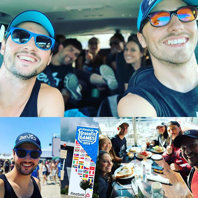 Back home after an exhilarating week @the_crossfit_games promoting @zevia to all the athletes competing in this years competition. This event was unreal! Made some great friends along the way. Thanks! @turnkeymarketingpromo
