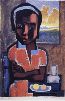 Figure 1. Girl in Red, 1950