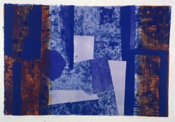 Figure 9. Blue Window, 1962-1963