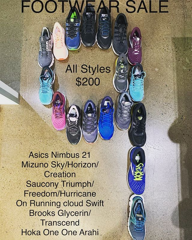 Kick off our Birthday Sale we've put some of our popular Footwear styles on sale .. #trsburleigh #therunningshop #burleighheads #9thBirthdaySale  #Footwearsavings