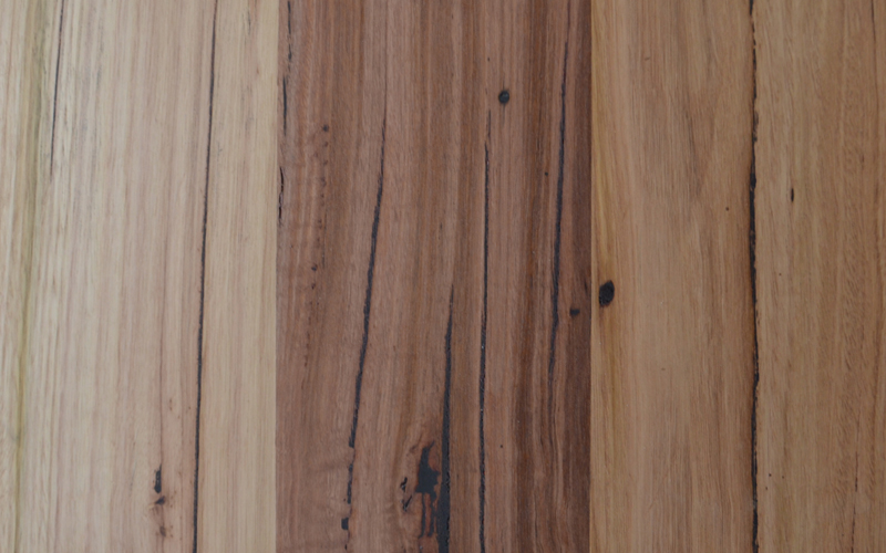 Messmate timber with medium character level