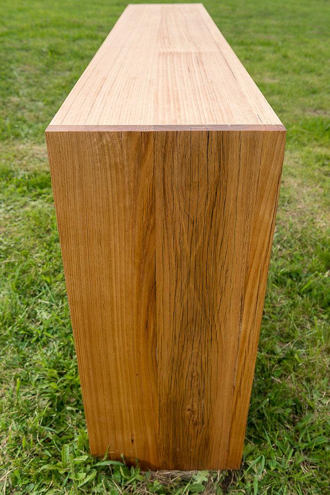 custom timber console