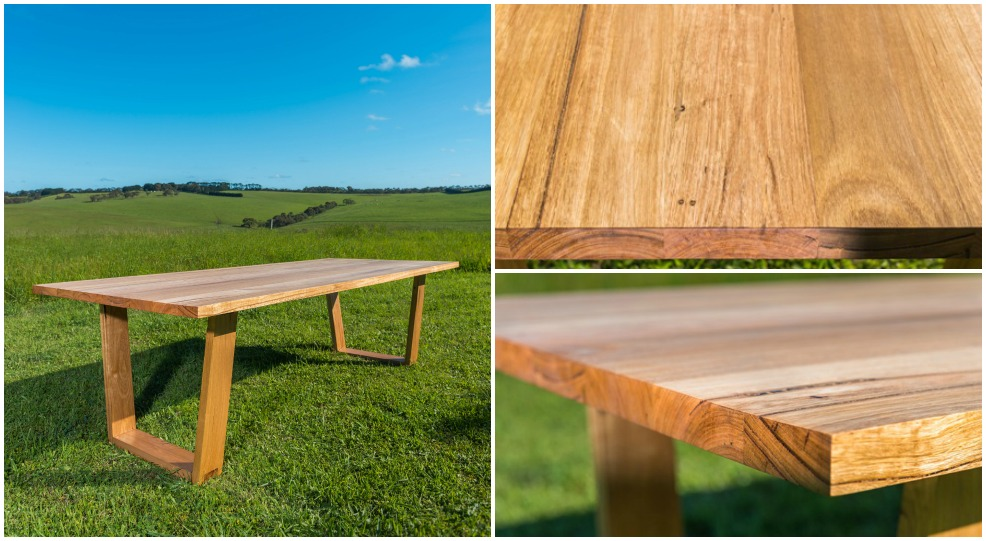 The Jan Juc recycled Messmate dining table