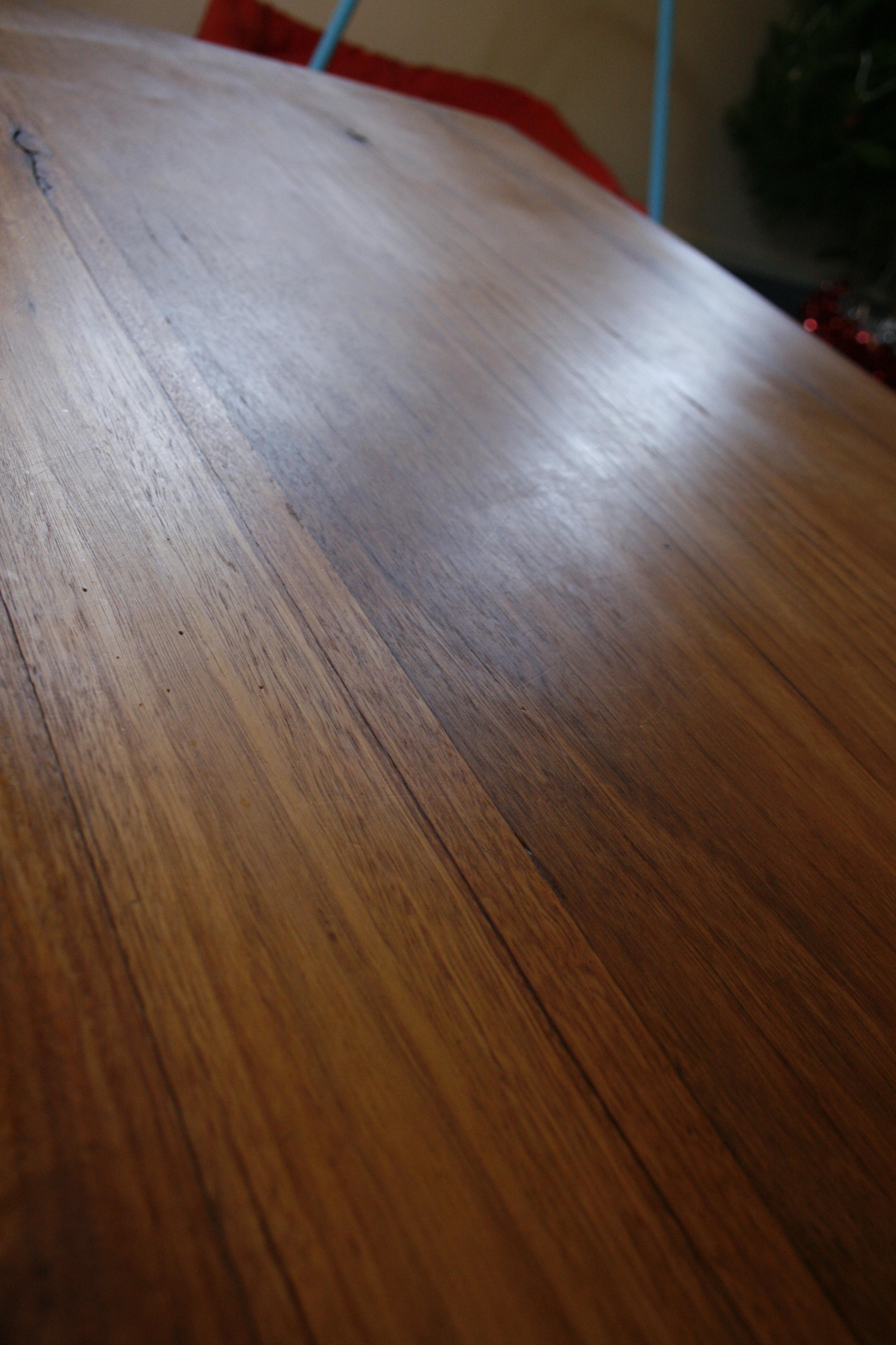 repair scratched timber furniture