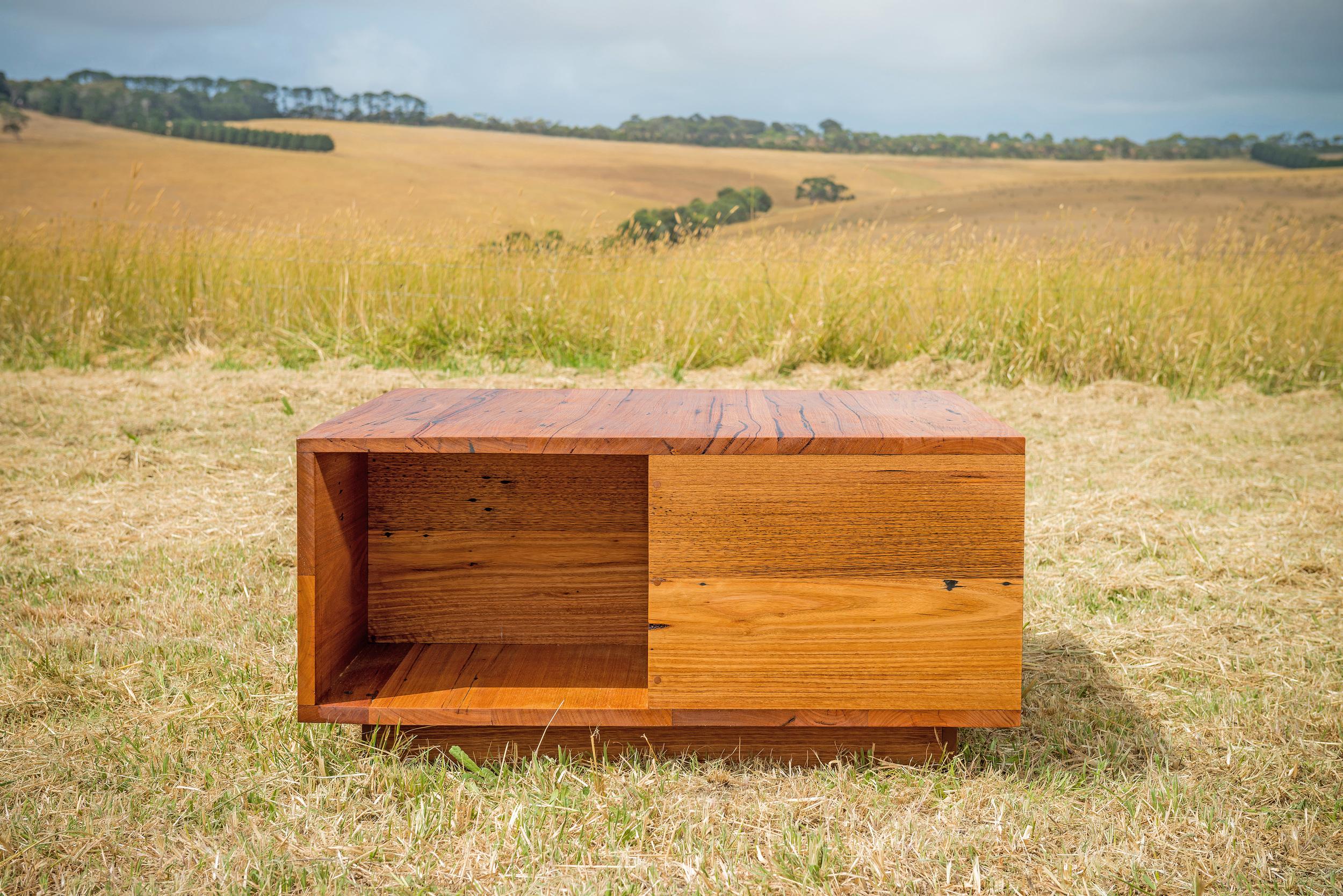 custom timber coffee table
