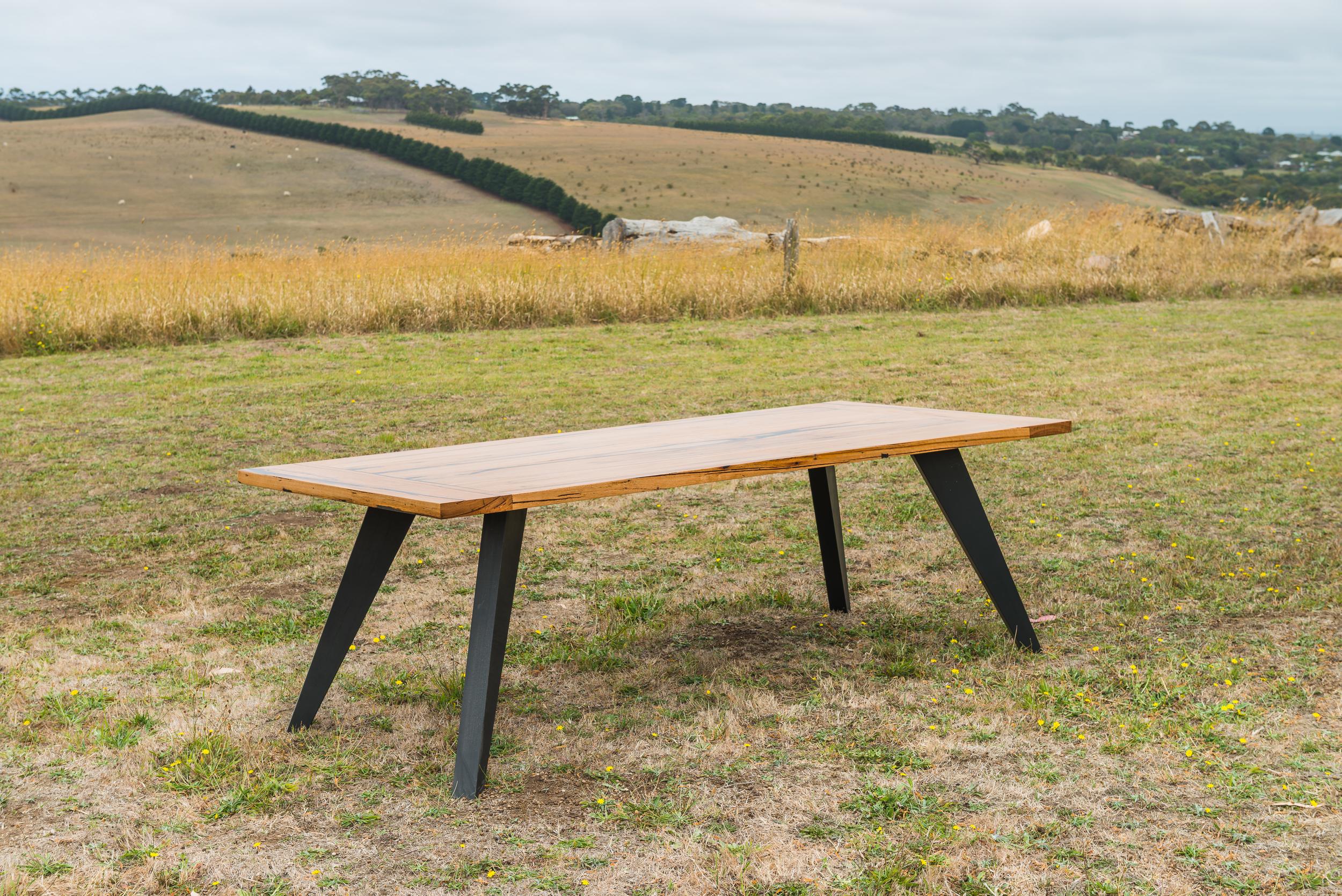 american oak dining table