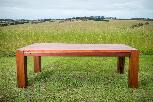 custom outdoor dining table
