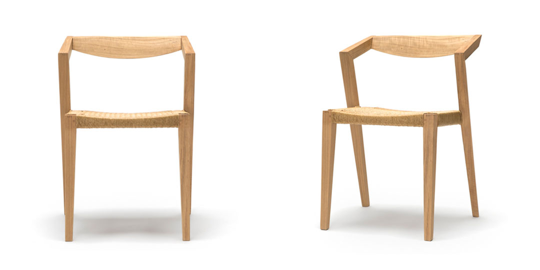 contemporary timber dining chair