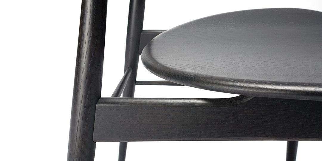 Dark Wenge dining chair