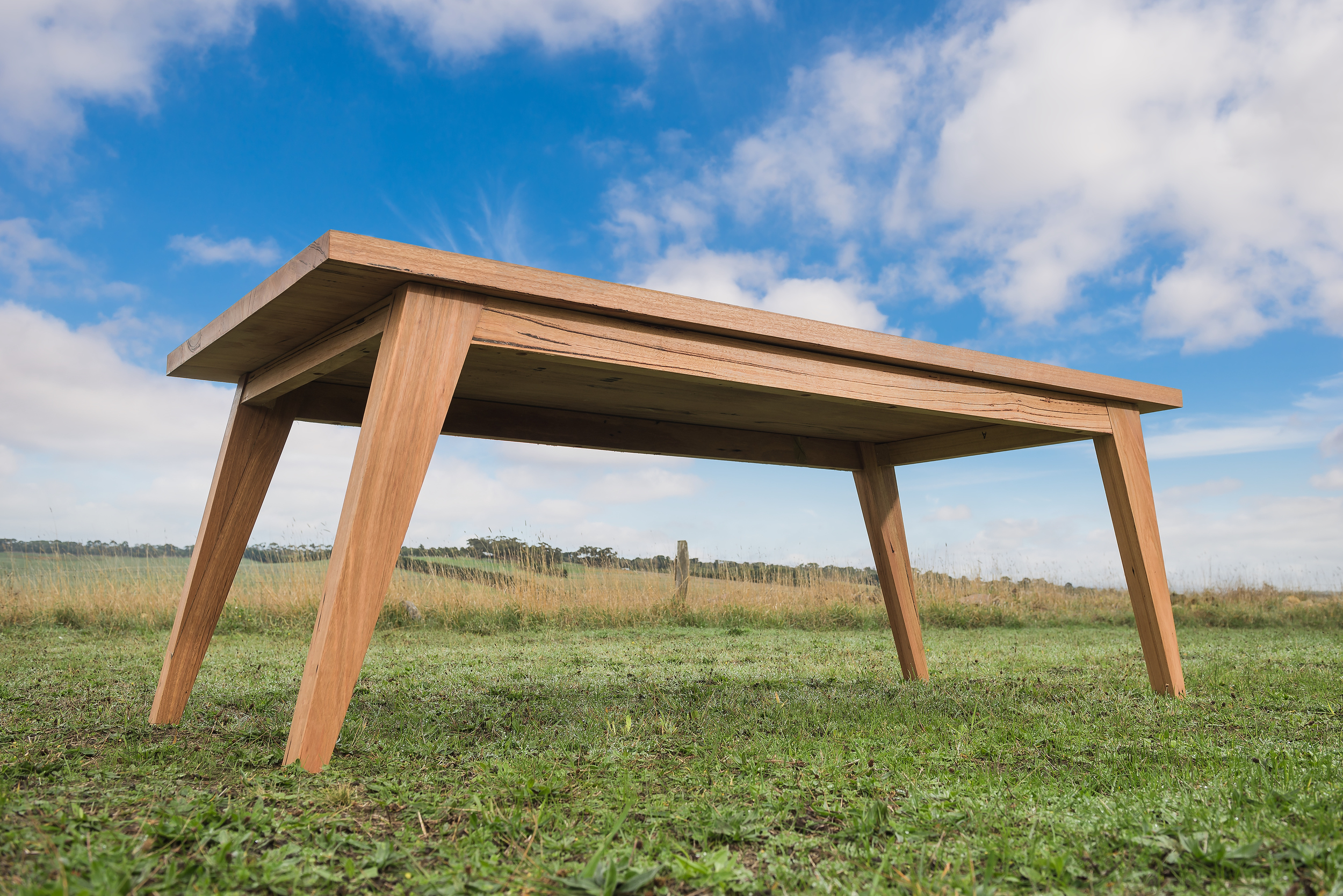 wormy chestnut dining table geelong
