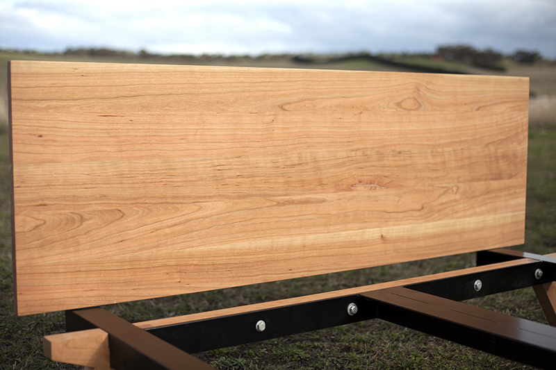 american cherry wood bed