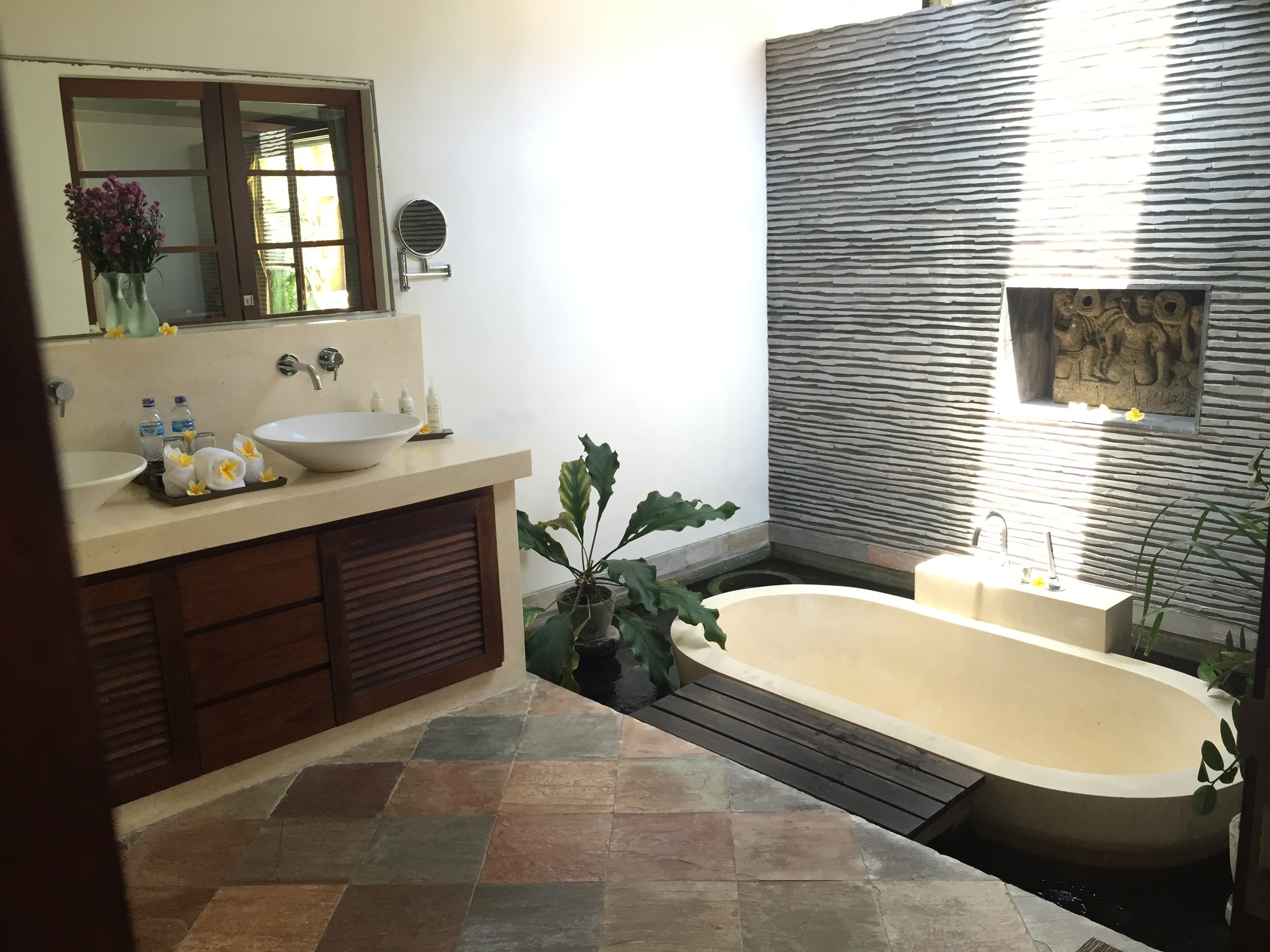internal Balinese style water feature