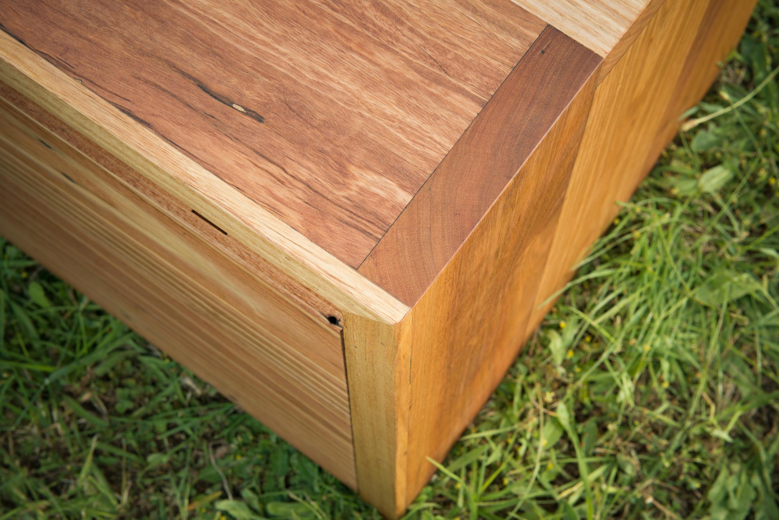 timeless timber tv unit